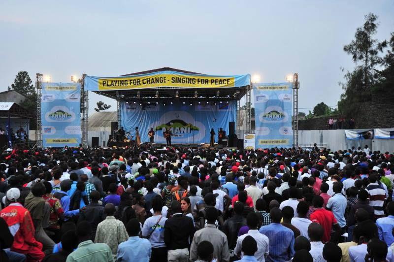 JB M'PIANA et JEAN GOUBALD retenus pour agrémenter le festival Amani !
