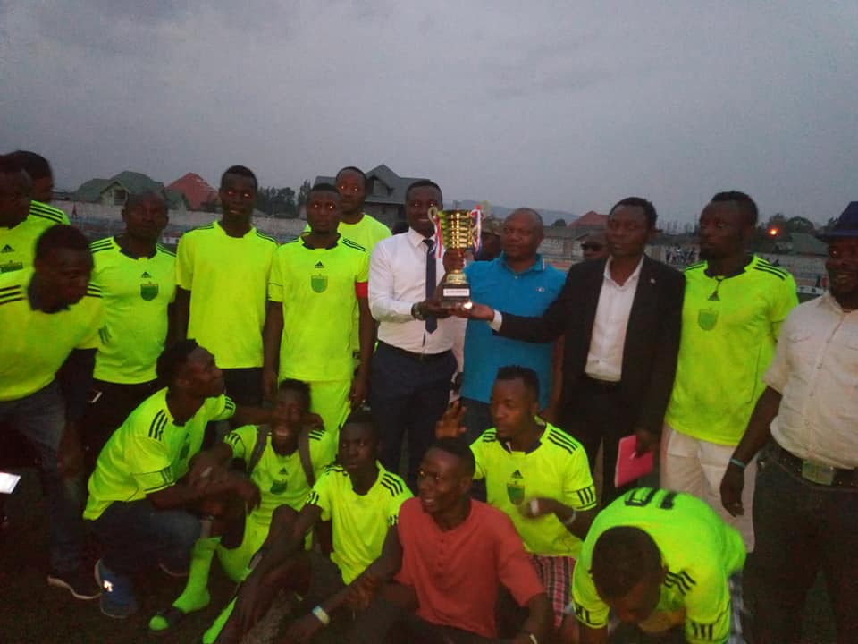 L'as Kabasha sacré champion du tournoi  LA COPA BONGANIA, organisé par Richard Bongania