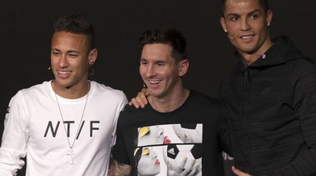 Neymar « Messi est mon idole et Cristiano un