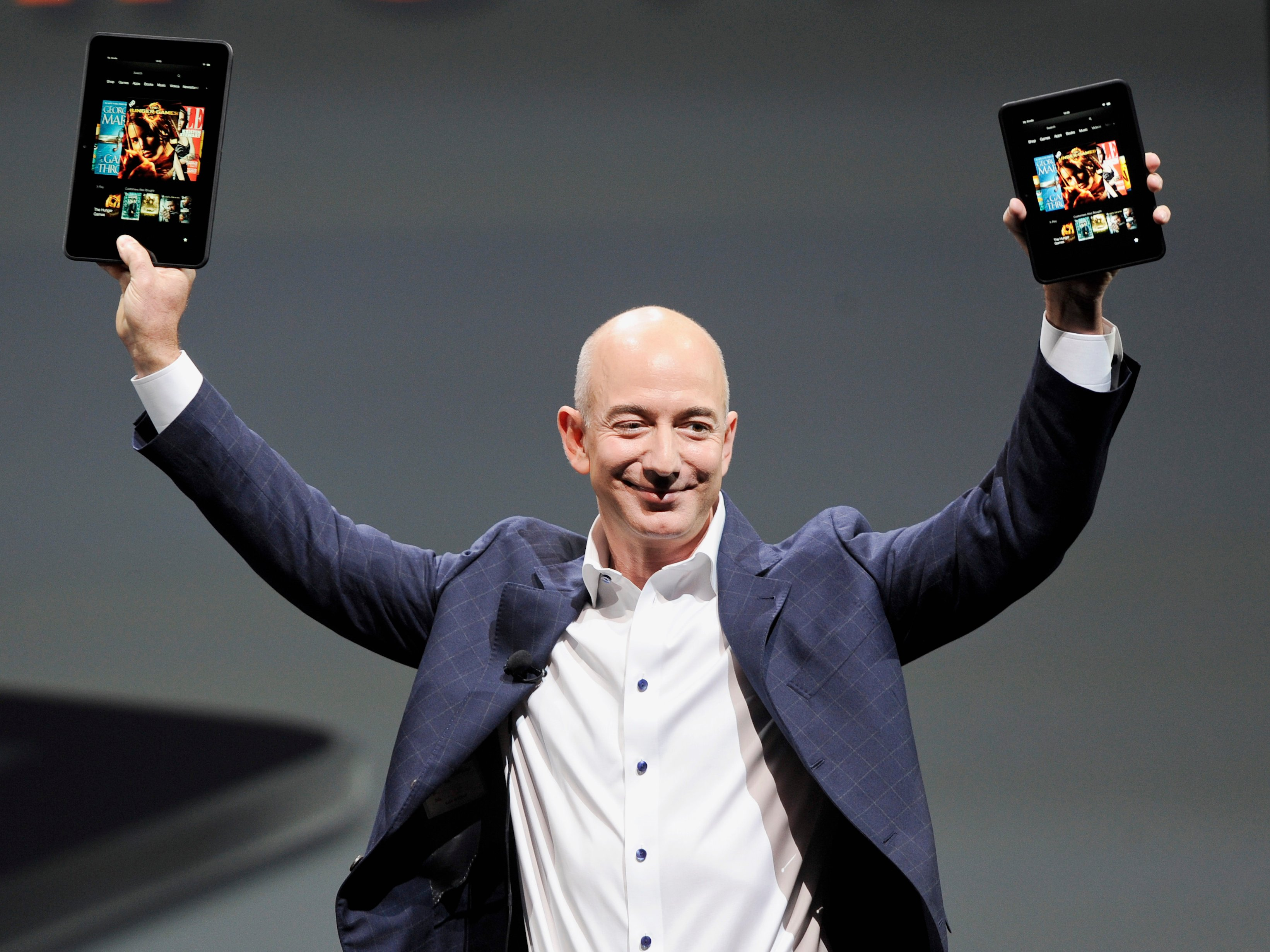 Jeff Bezos (Amazon) devient l'homme le plus riche du monde devant Bill Gates