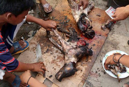 Kinshasa : Marche de protestation contre la consommation de la viande de Chien